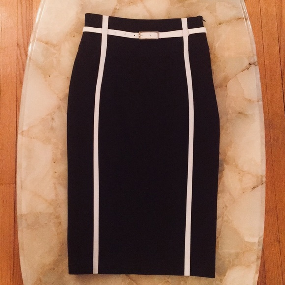 274c75555e Karen Millen Skirts | High Waisted Pencil Skirt Size 4 | Poshmark